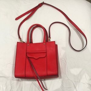 Rebecca Minkoff Bright Red Crossbody Bag